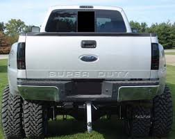 2008 ford f250 tail light bulb xtreme redline diesel product recon lighting smoked lens led tail