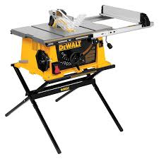 10 In Table Saw Dewalt Dwe7490x 10 Inch Job Site Table Saw With 28 1 2 Inch Max
