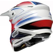 black motocross helmets shoei vfx w sear matt black motocross helmet tc 10 white red blue