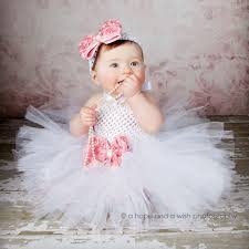 Flower Baby Halloween Costume Aliexpress Buy White Girls Tutu Dresses Baptism Birthday