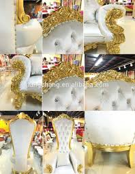 luxury wedding event wooden sofa chair king throne jc k150 view