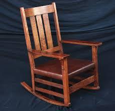 Mission Oak Rocking Chair Voorhees Craftsman Mission Oak Furniture Rockers