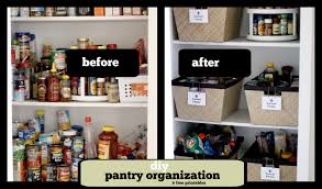 Organizing My Kitchen Cabinets Magnificent Diy Kitchen Pantry Organization Organized Pantry Jpg