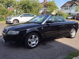 2004 audi a4 1 8t cabriolet convertible 5 seats black color 53 reg