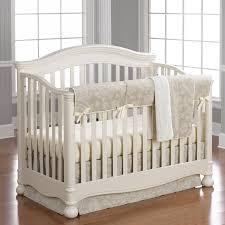 Beige Crib Bedding Set Decorating Gender Neutral Baby Bedding All Modern Home Designs