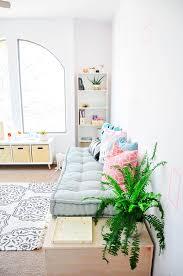 make it diy minimalist daybed with storage