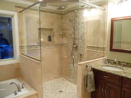 Beige Bathroom Designs by Master Bathroom Walk In Shower Designs Dark Orange Small Sower