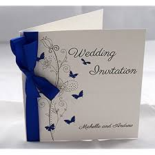 royal blue wedding invitations royal blue wedding invitations co uk