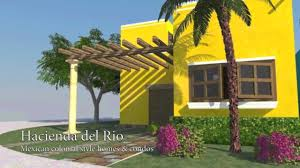 Mexican Decorating Ideas For Home by Hacienda Del Rio Playa Del Carmen Mexican Colonial Style Homes