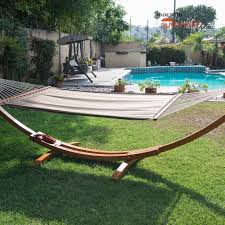 amazon com prime garden sunbrella fabric hammock 14 feet wood arc