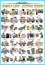 Resume Verb Family Life Action Verbs