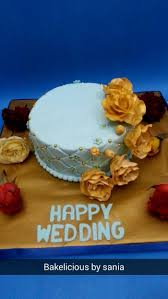 Buy Wedding Cake Buy Wedding Cake By Bakelicious By Sania In Karachi Sheops