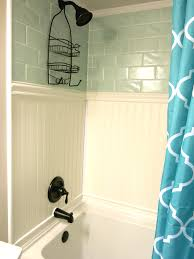 how to cover dated bathroom tile with wainscoting wainscoting