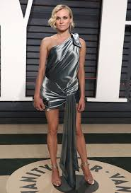 Vanity Fair Oscar Party Diane Kruger In Alexandre Vauthier Couture At 2017 Vanity Fair