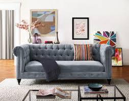 Velvet Chesterfield Sofa Sale by Willa Arlo Interiors Gertrudes Chesterfield Sofa U0026 Reviews Wayfair