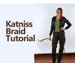 katniss costume diy katniss braid and costume