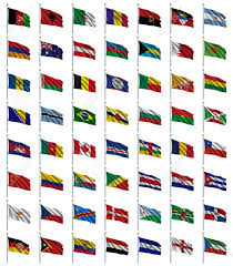 World Flag World Flags Set 1 Of 4 A To E Set Of Flags In Alphabetical