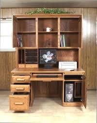 desk mission style computer desk with hutch sauder appleton