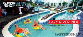 river hotels panama city lazy river ride sandpiper beacon