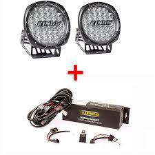 round led driving lights illuminator 9 round led driving lights pair illuminator led