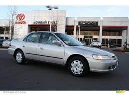 1999 honda accord silver 1999 satin silver metallic honda accord lx sedan 42187777
