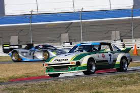 mz racing mazda motorsport 5 car formation drive of former
