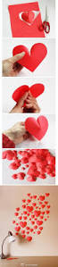 Decorative Hearts For The Home Diy Easy 3d Paper Heart 3d Paper Paper Hearts And 3d