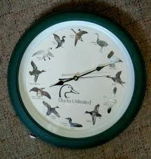 Ducks Unlimited Home Decor Find More Ducks Unlimited Wall Clock For Sale At Up To 90 Off