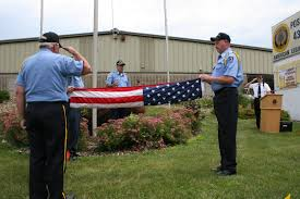 Flag Folding American Flag Minnesota Prairie Roots
