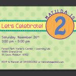 10 year old birthday party invitation wording 2 year old birthday