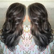 hoghtlighting hair with gray pictures grey hair color ideas women black hairstyle pics