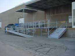 aluminum portable handicapped wheelchair ramps for disabled access
