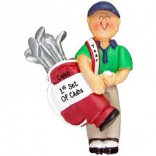 golf ornaments gifts for golfers personalized ornaments for you