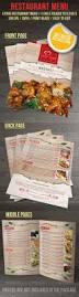 170 best food menu templates images on pinterest menu templates