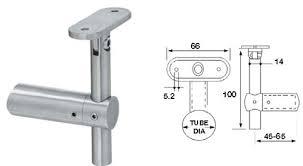 Banister Bracket Adjustable Handrail Brackets The Pro Railing Stainless Steel