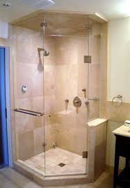 Angled Shower Doors Frameless Neo Angled Shower Enclosures Glass To Ceiling