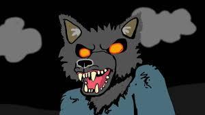 spirit halloween howling werewolf drawing youtube