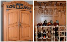 Tv Armoire Turn An Old Tv Armoire Into A Wine Cabinet Hometalk