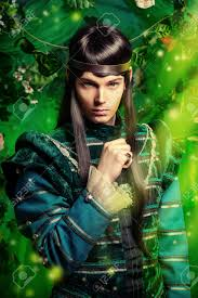 Beautiful Fairies by Beautiful Male Elf In The Magic Forest Fantasy Fairy Tale