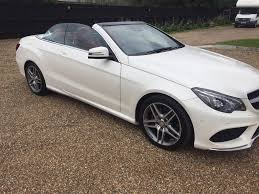 convertible mercedes red mercedes e220 amg cdi convertible 65 reg white red roof red