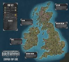 us map of thrones thrones of britannia caign map reveal total war forums