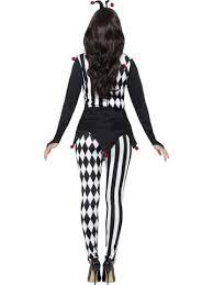 Halloween Jester Costume Female Jester Costume Black Leggings U0026 Headband U2013