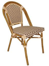 Wicker Bistro Chairs Wicker Bistro Chair Set Of 4 Stools Chairs