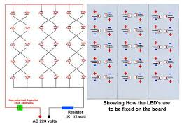 How To Make Led Lights How To Make Energy Saving Lamps Use Led Light Emitting Diode
