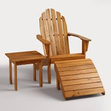 What Are Adirondack Chairs Natural Adirondack Chair World Market