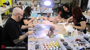 makeup effects school cinema makeup school lab internship program