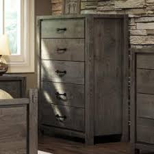 defehr series 697 queen rustic panel storage bed stoney creek