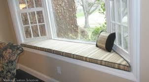 bay window seat cushions bay window seat cushion newton custom interiors