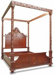 Victorian Canopy Bed Victorian Bedroom Sets Foter