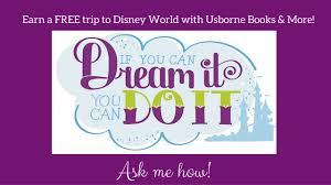 earn free trip disney usborne books u0026